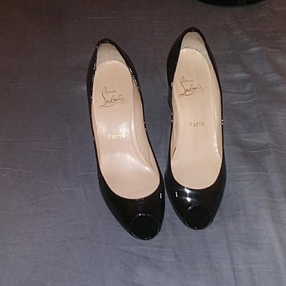 7c5a64a1640 CL chunky heel 38 1/2